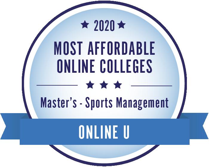 Sports Management-Most Affordable Online Colleges-2019-Badge