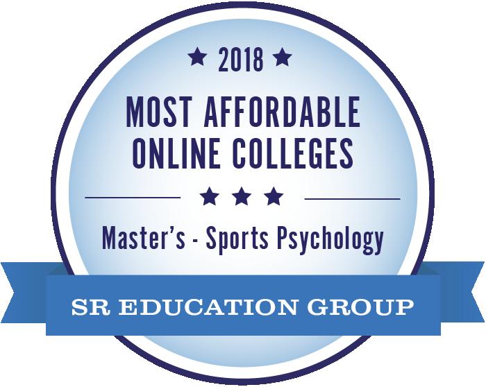 Sports Psychology-Most Affordable Online Colleges-2018-Badge