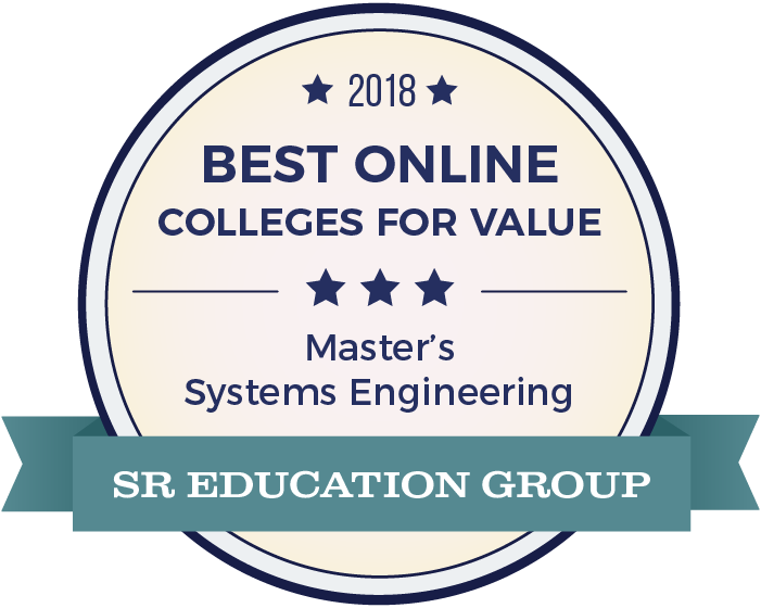 Systems Engineering-Top Online Colleges-2018-Badge