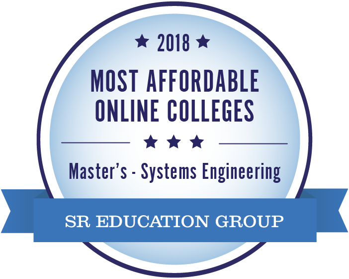 Systems Engineering-Most Affordable Online Colleges-2018-Badge