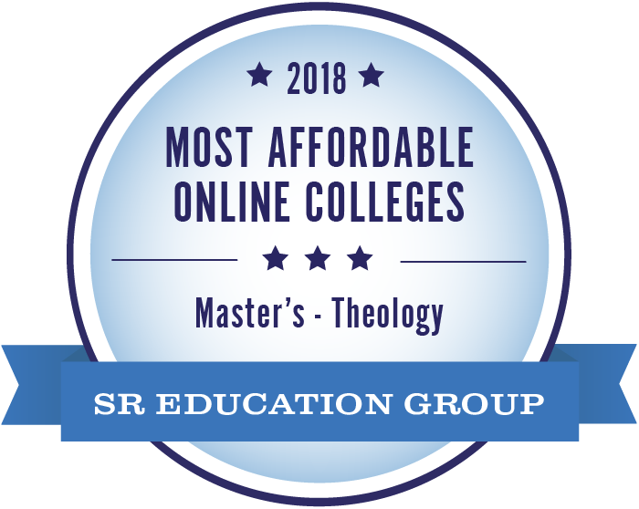 Theology-Most Affordable Online Colleges-2018-Badge