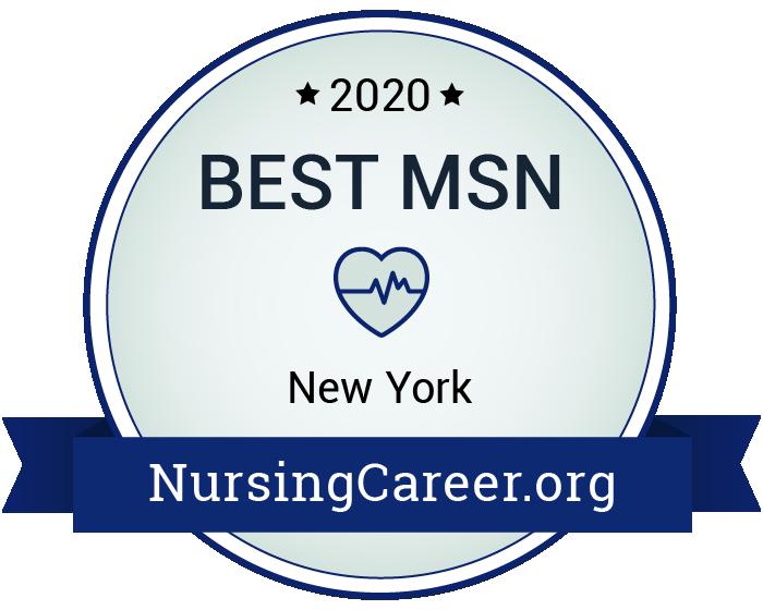 Best Nursing Master's Degrees in New York Badge
