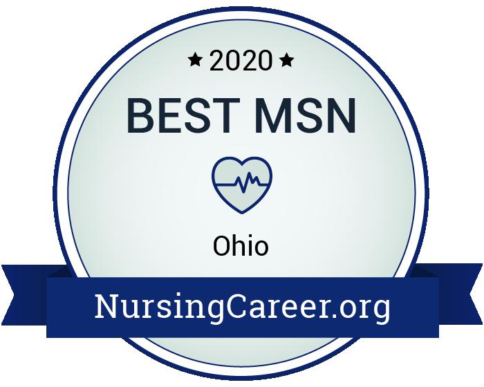 Best Nursing Master's Degrees in Ohio Badge