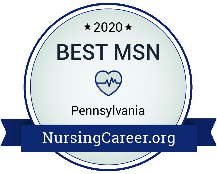 Best Nursing Master's Degrees in Pennsylvania Badge