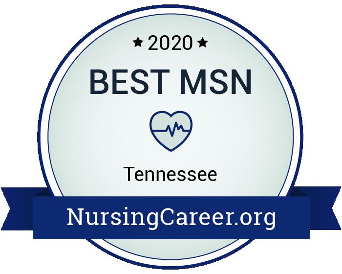 Best Nursing Master's Degrees in Tennessee Badge