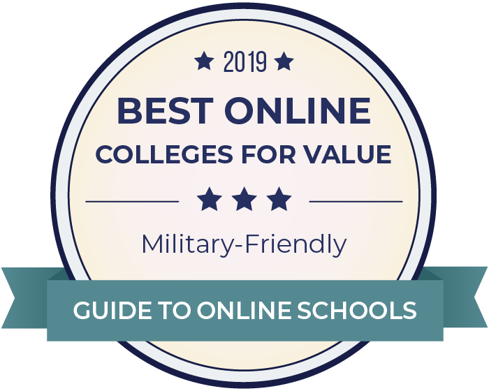 2019 Best Military-Friendly Online Colleges Badge