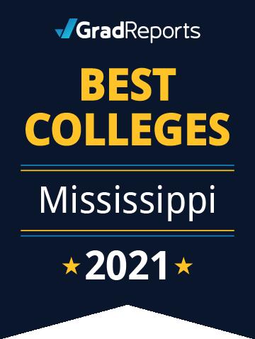 2021 Best Colleges in Mississippi Badge
