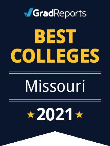 2021 Best Colleges in Missouri Badge