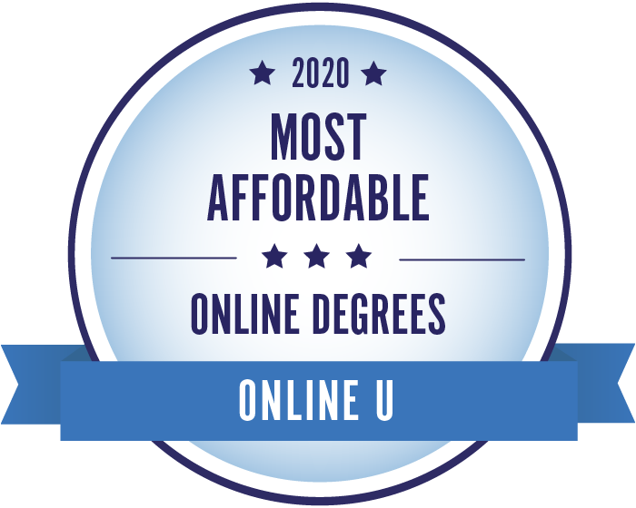 2020 Most Affordable Degrees Badge