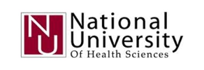 National University of Health Sciences logo