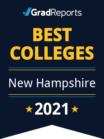 2021 Best Colleges in New Hampshire Badge