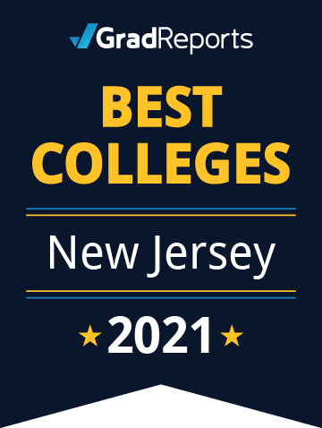 2021 Best Colleges in New Jersey Badge