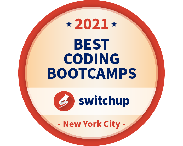 2021 Best Coding Bootcamps Badge