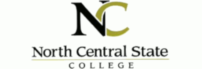 North Central State College logo
