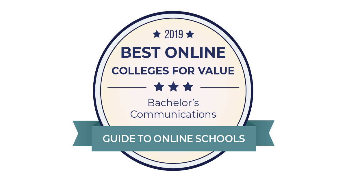 2019 Best Online Colleges for Communication Degrees
