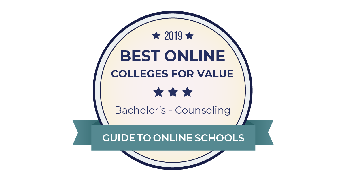 2019 Best Online Counseling Bachelors Degrees