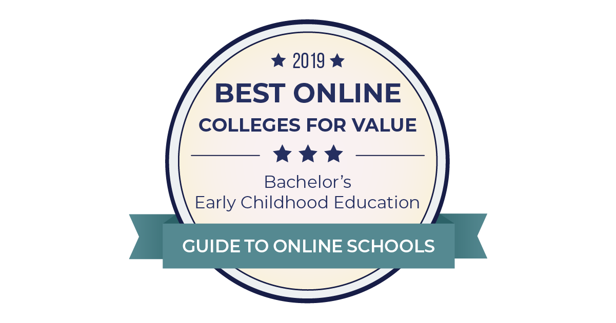 f74c315ad3d10 2019 Best Online Colleges for Early Childhood Education Degrees