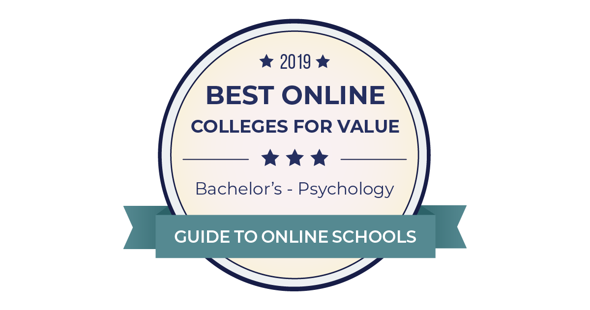 2019 Best Accredited Online Psychology Degrees