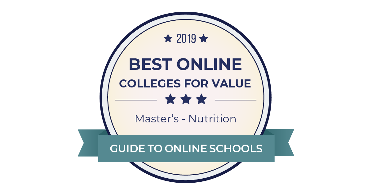 2019 Best Accredited Online Nutrition Masters Degrees