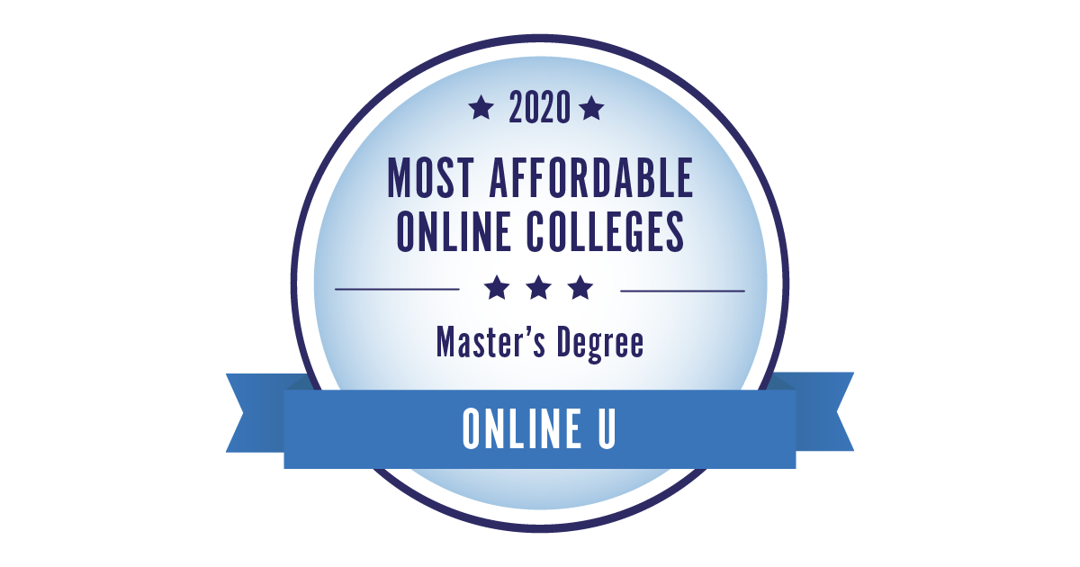2019 most affordable colleges - cheapest online master's programs