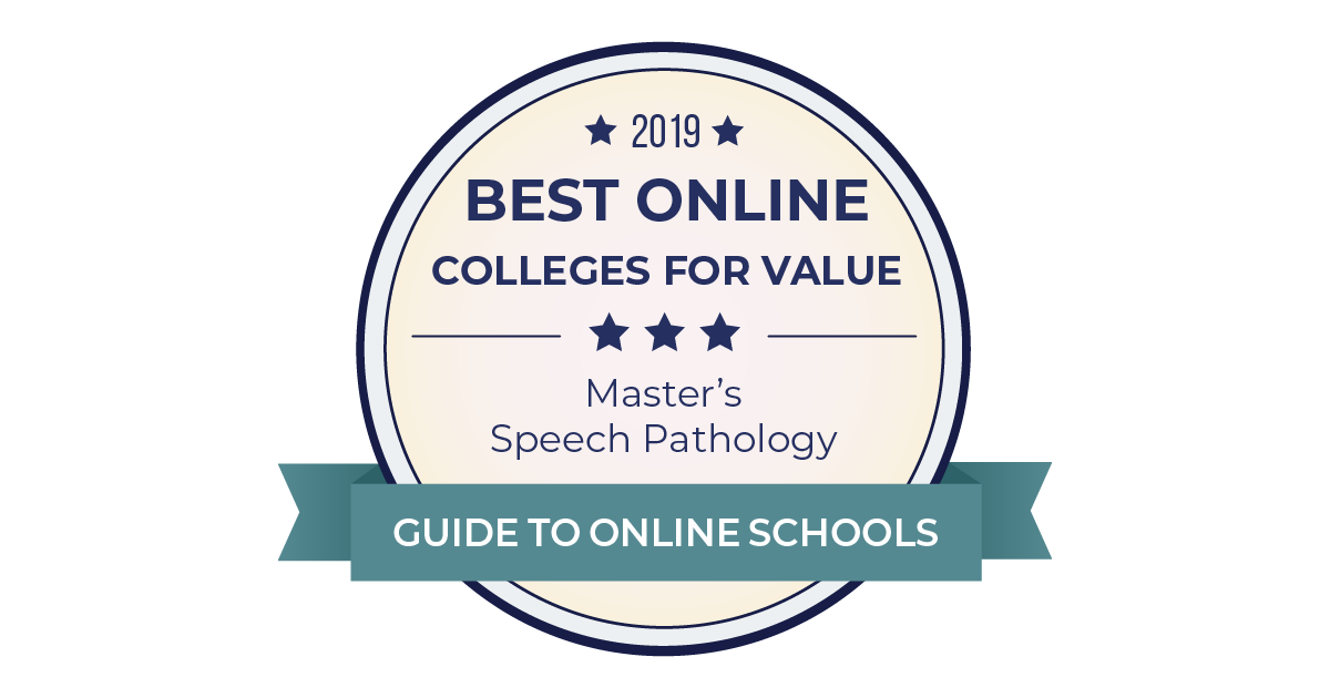 2019 Best Accredited Online Speech Pathology Degrees