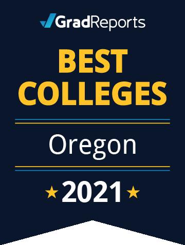 2021 Best Colleges in Oregon Badge