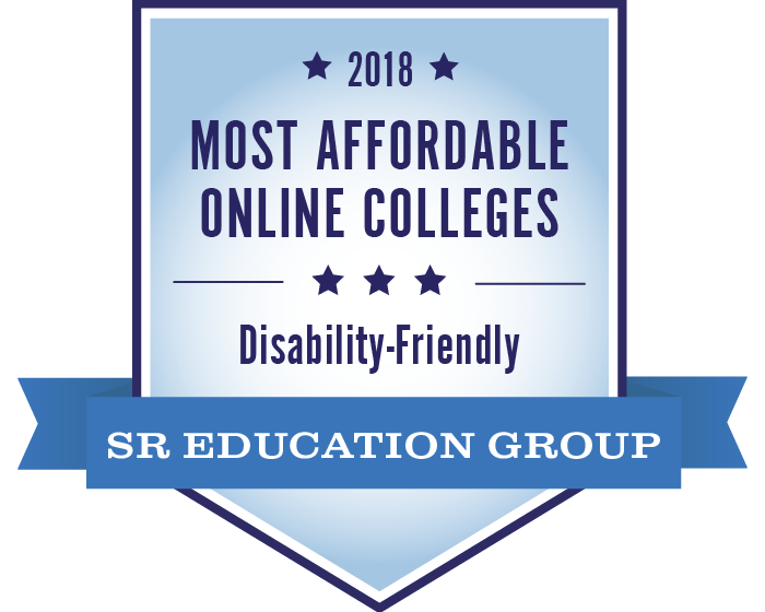 2018 most affordable online colleges for students with disabilities