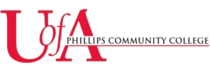 Phillips Community College of the University of Arkansas logo
