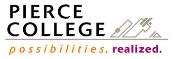 Pierce College at Puyallup logo