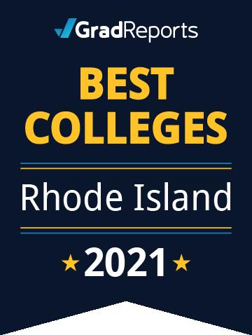 2021 Best Colleges in Rhode Island Badge