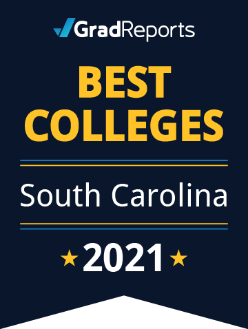 2021 Best Colleges in South Carolina Badge