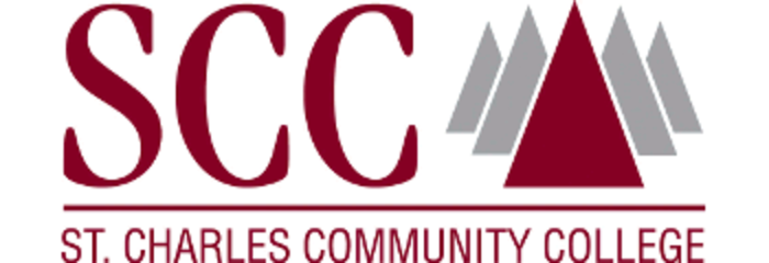 St Charles Community College logo