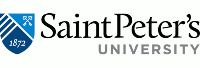 St. Peter's University logo