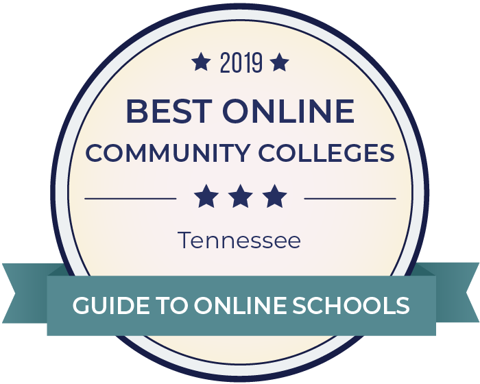 2019 Best Online Community Colleges in tennessee Badge
