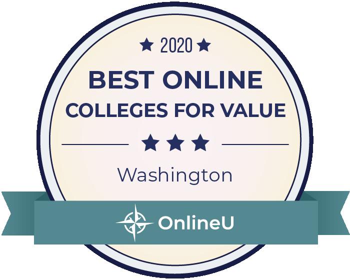 2020 Best Online Colleges in washington Badge