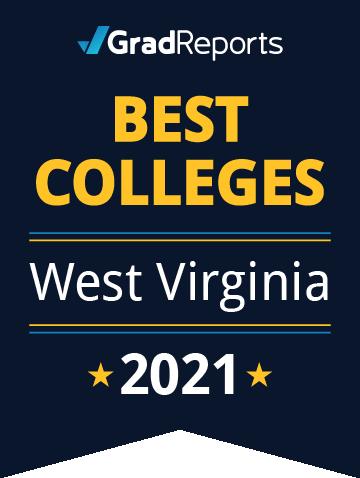 2021 Best Colleges in West Virginia Badge